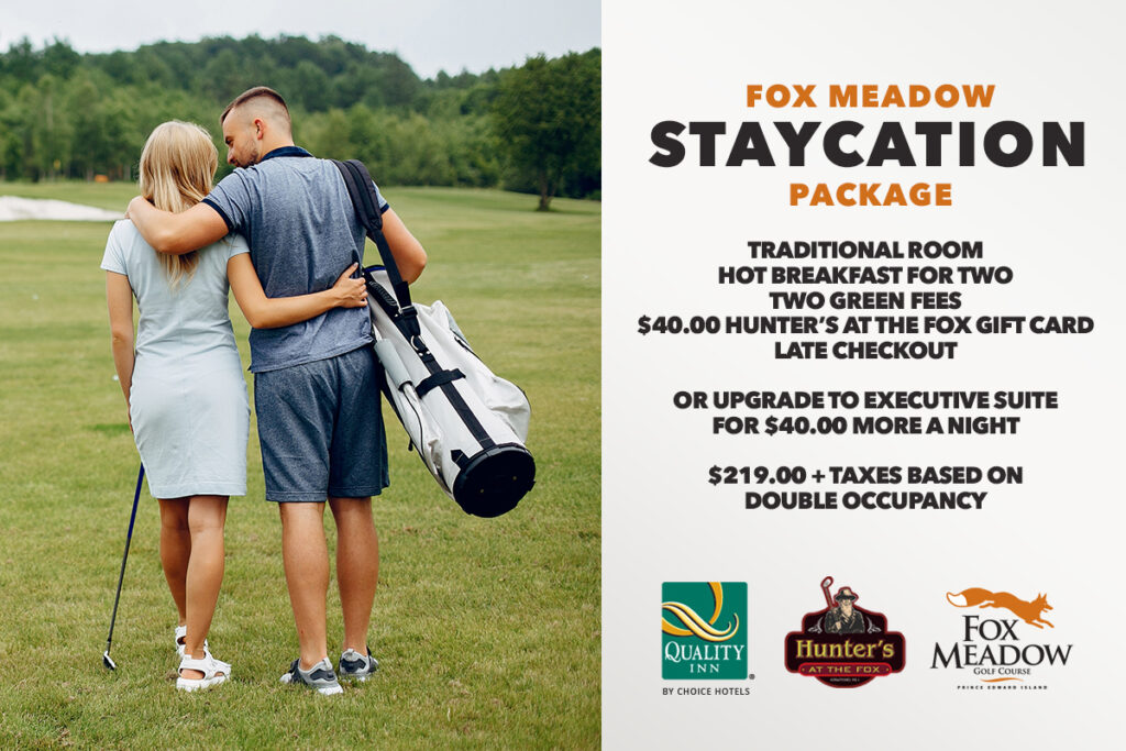 Golf Staycation Package